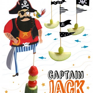 Piraten traktatie Captain Jack
