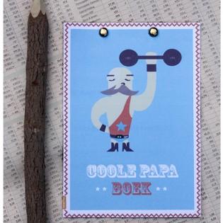 Echt leuk om te geven! Ons gratis 'coole papa invulboek'.