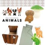 Kinderkamer inspiratie – themakamer ANIMALS