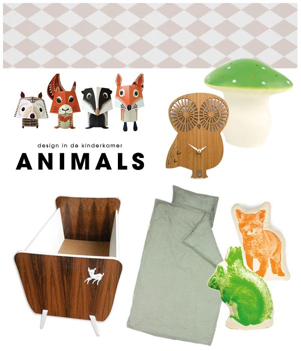 kinderkamer inspiratie - themakamer animals | moodkids, Deco ideeën