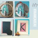 DIY – Zelfgemaakt kraamcadeau met letters