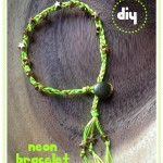 NEON stars armband