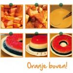 Oranje Boven! – Oranje driekleur pudding