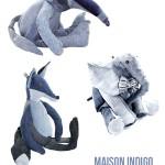 Maison Indigo – Knuffels van gerecycled denim