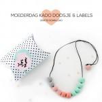 Moederdag Kado doosje met Labels om zelf te maken
