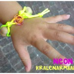 Neon kralenarmband tutorial