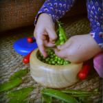 Karien van Ditzhuijzen – Erwten doppen – recept Risi e bibi