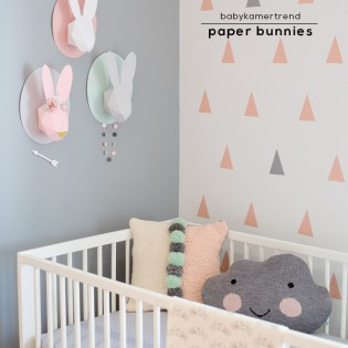 Kinderkamer – Paper Bunnies