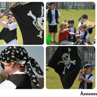 Piratenfeestje thuis