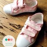 DIY polkadot sneakers