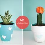 Plantenpotten versieren: heel veel leuke ideetjes!