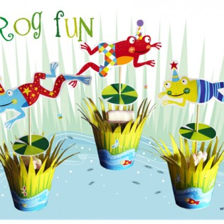Traktatie – Froggy Fun