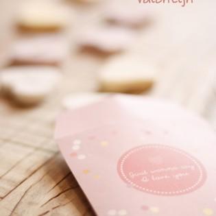 Cadeauzakje Valentijnsdag – gratis printable