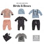 Z8 newborn kids wintercollectie – Birds and Bows