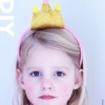 Haarband kind: gewei of kroon