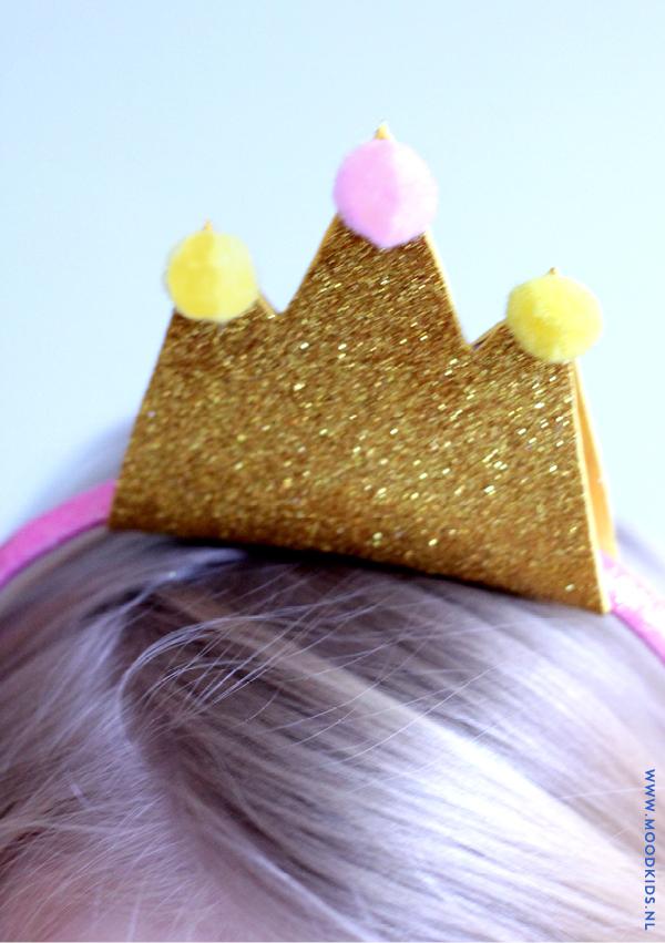 diy, haarband, kroon, gewei, kerst