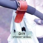 Stokke® MyBag – maak eenvoudig een stoere tashanger voor de kinderwagen