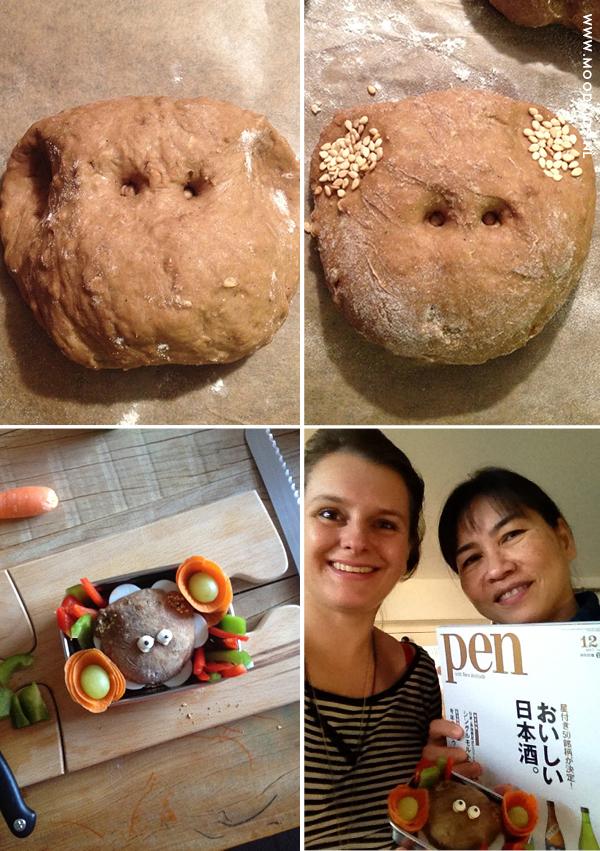 bento, beer, beren broodje, lunchbox, lunchtrommel voor kinderen, japanse lunchbox, bento idee