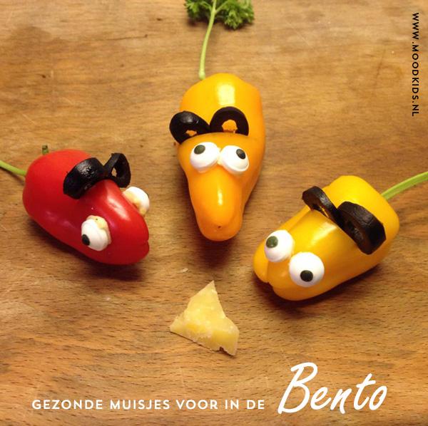 bento, muisjes, gezond, paprika, kinderlunch, lunchbox idee, broodtrommel idee
