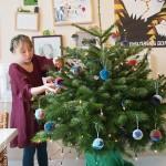 Pompom Kerstballen maken