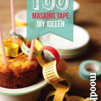 MoodKids Magazine 100 Masking Tape ideeën