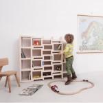REK junior – Dutch Design Boekenkast die meegroeit met je kind