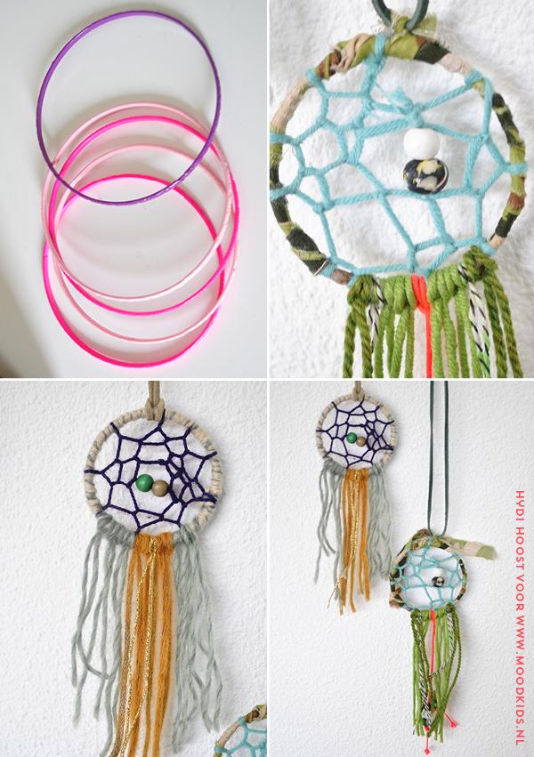 Dromenvanger ketting maken doe je makkelijk zelf for Bruiloft decoratie zelf maken
