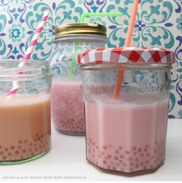 food, bento, recept, shake, sojamelk, bubble tea maken, zelf maken