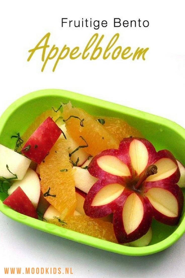 Leer zelf hoe je van een appel een bloem maakt. Leuk als 10-uurtje maar ook voor in de lunchtrommel. Met deze stap-voor-stap omschrijving en wat oefening maak je deze appelbloem zo. #dutchbento