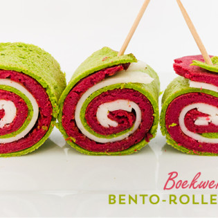 Oergezonde Bento : gekleurde boekweitrolletjes