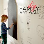 Maak zelf een Family Art Wall