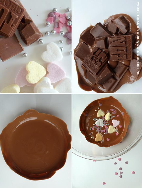 chocolade cadeau maken