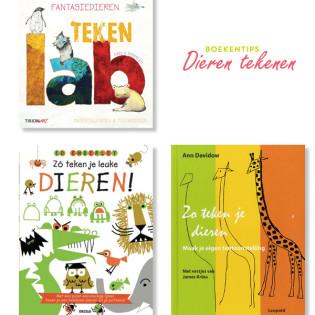 TOP 3 tekenboeken voor kinderen – Dieren leren tekenen
