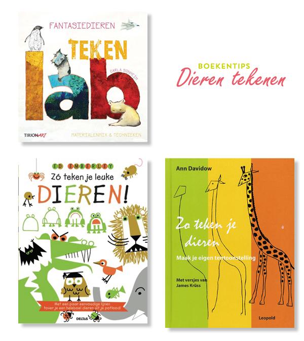 Top 3 Tekenboeken Voor Kinderen Samen Dieren Tekenen Met Moodkidsnl