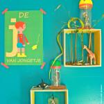 DIY: kijkkastje en stolp voor de schattenverzameling van je kind