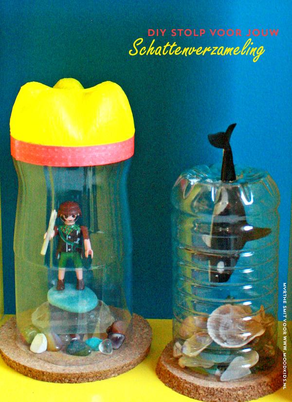 Is jouw kind een echte verzamelaar? Maak zelf een plastic stolp voor de schattenverzameling van je kind in de kinderkamer. Met Myrthe's uitleg een makkie. diy stolp, plastic stolp, schattenverzameling, voor kleine schatten