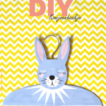 Voorjaarscollectie van H&M + DIY konijnenhanger