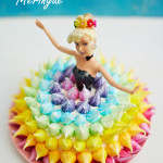 Meringue barbietaart