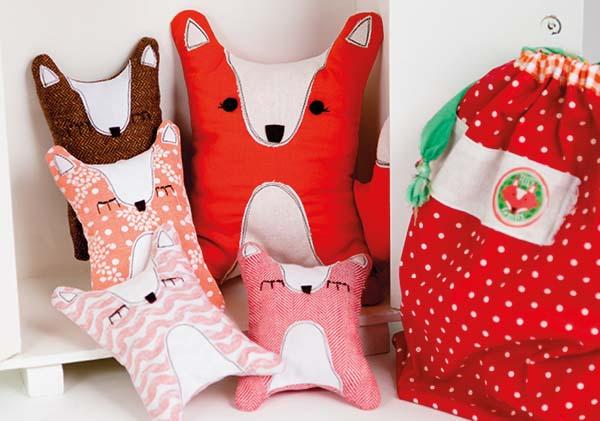 Beroemd DIY vossenfamilie - zelf een kersenpit knuffel maken doe je zo &EU22