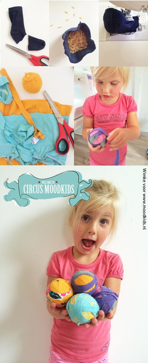circusballen maken DIY