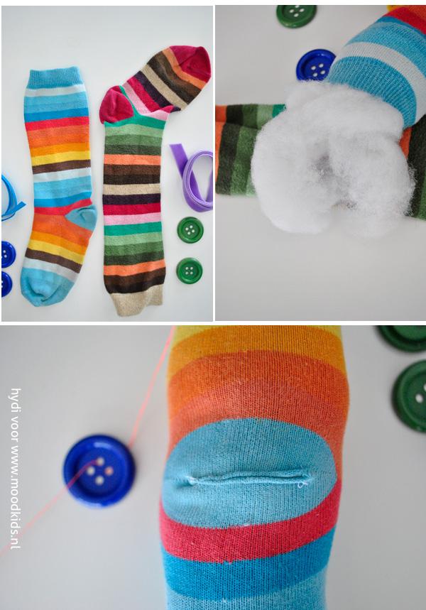zelf een sokpop maken