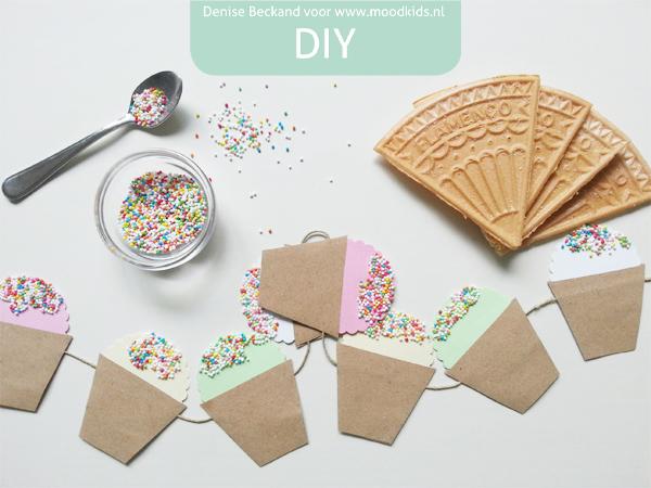 disodip ijsjes van papier