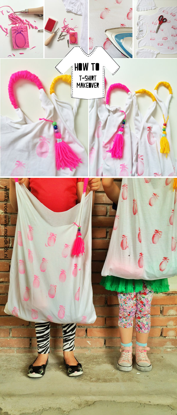 how to tshirt makeover