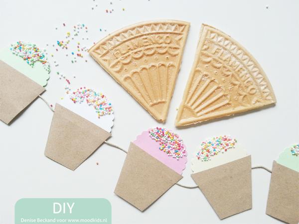 slinger van papier maken