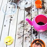 Spelen met koffie