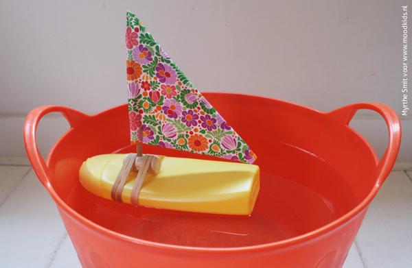 plastic flessenboot maken