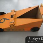 VRRRRRROEM zelf een raceauto maken uit karton