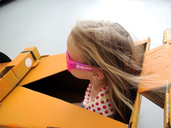 raceauto maken uit karton