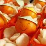 Chinese traktatie met mandarijn