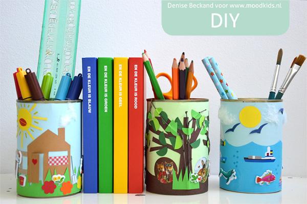 DIY tincan zelf maken met blik